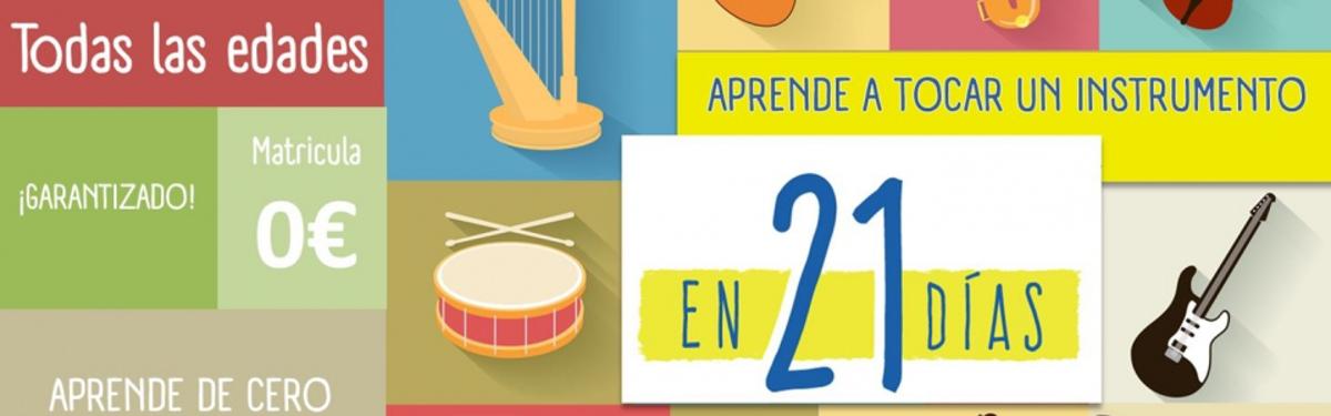 Curso intensivo de 21 días - Escuela de Musica La Sala