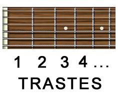 Consejos para comprar una guitarra - trastes